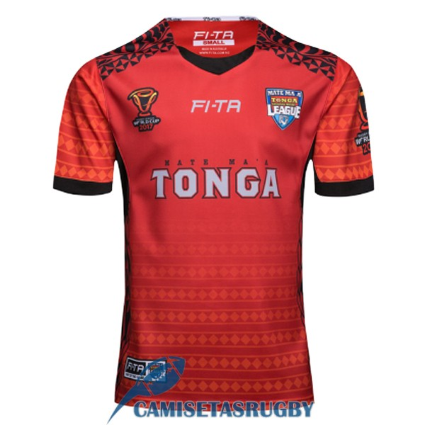 camiseta tonga rugby RLWC local 2017