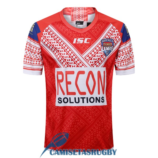 camiseta tonga rugby local 2018-2019