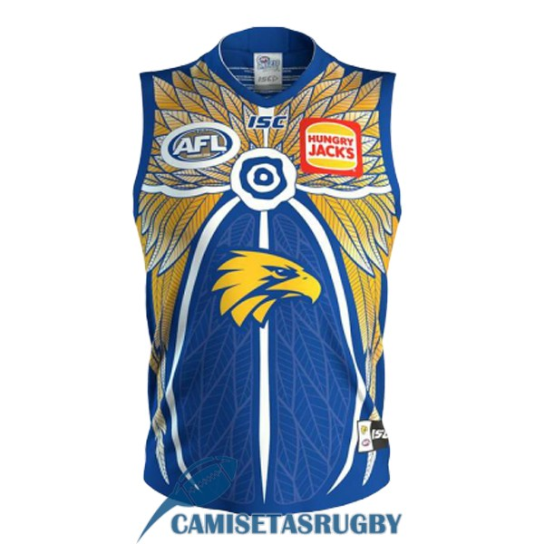 camiseta west coast eagles AFL Guernsey conmemorativa 2019 [rugby-15]