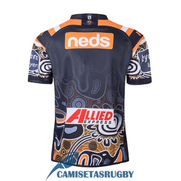 camiseta wests tigers rugby heroe 2019