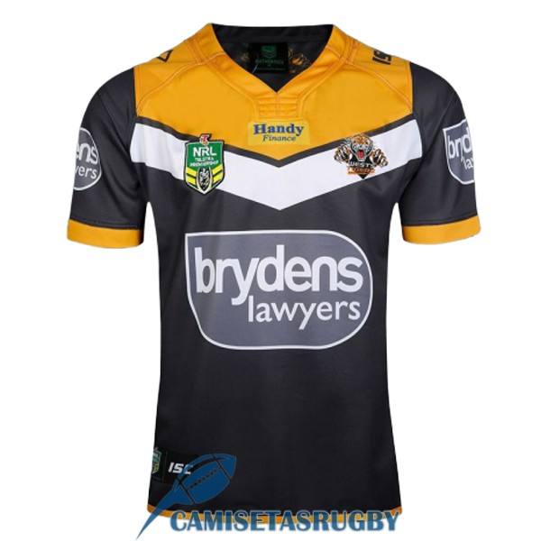 camiseta wests tigers rugby local 2017