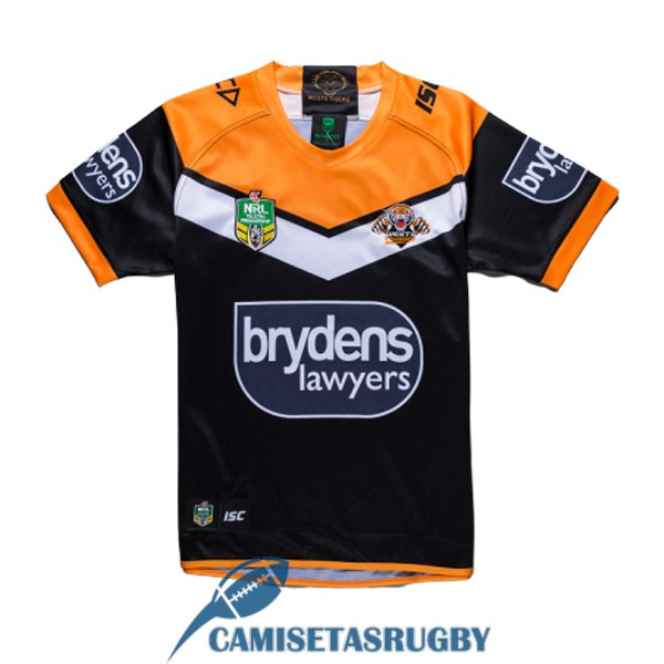 camiseta wests tigers rugby local 2019