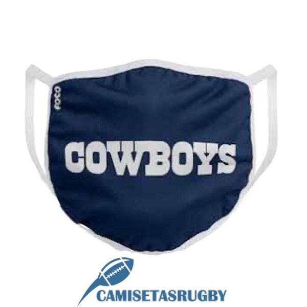 mascarilla north queensland cowboys azul