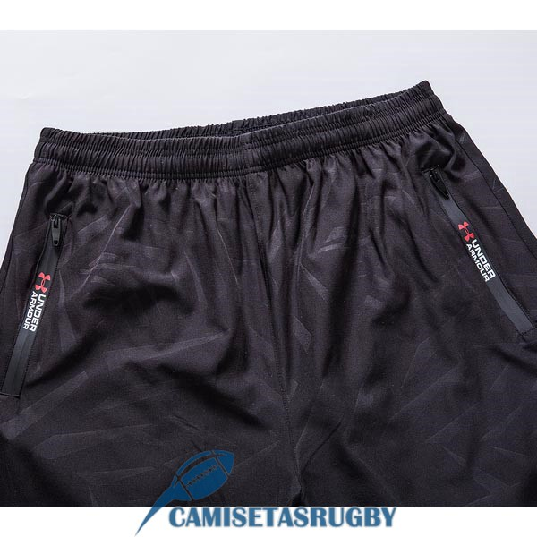 pantalones cortos 1907 negro under armour rugby<br /><span class=