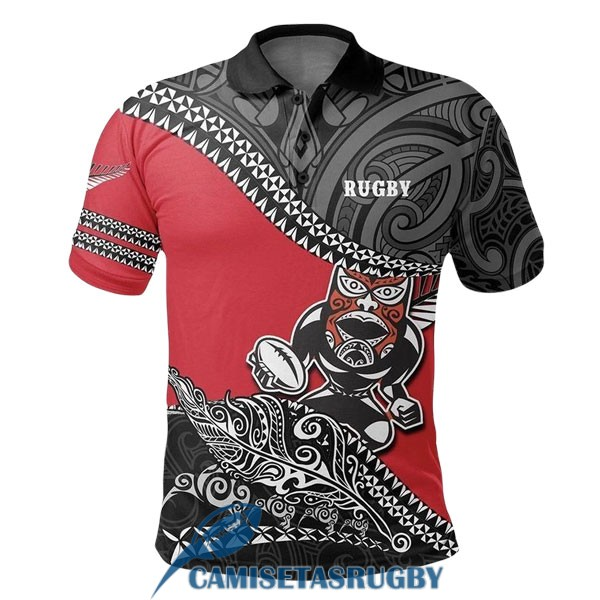 polo all blacks rugby negro rojo blanco 2020-2021 [rugby-20-11-30-35]
