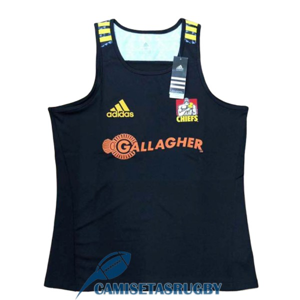 singlet chiefs rugby negro 2018