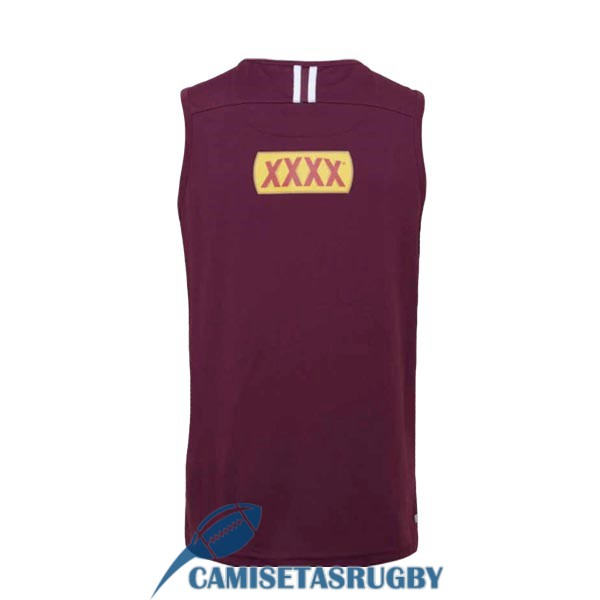 singlet queensland maroons rugby rojo 2020<br /><span class=