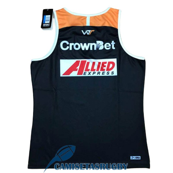 singlet wests tigers rugby naranja negro 2018-2019<br /><span class=