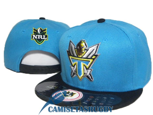 sombrero gold coast titans NRL negro azul B [rugby-20-6-10-20]