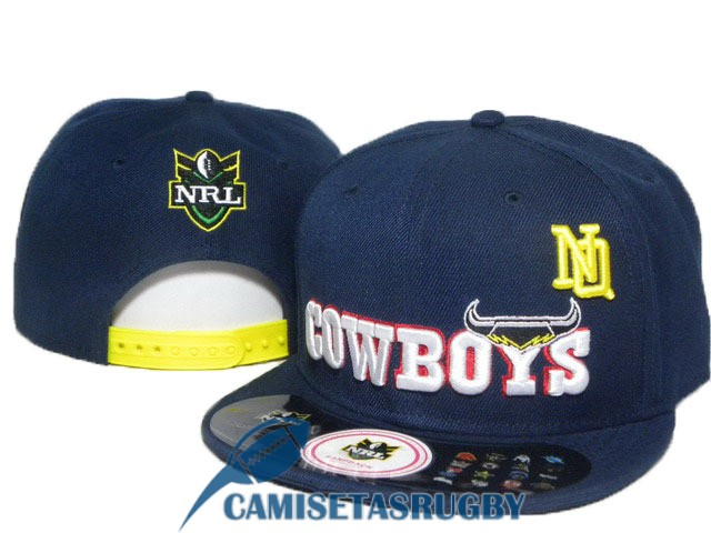sombrero north queensland cowboys NRL azul oscuro