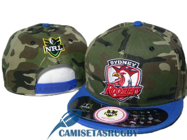 sombrero sydney roosters NRL camuflaje azul oscuro