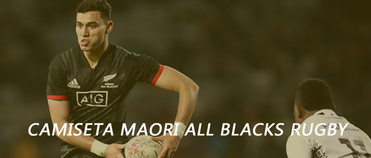 camiseta maori all blacks barata